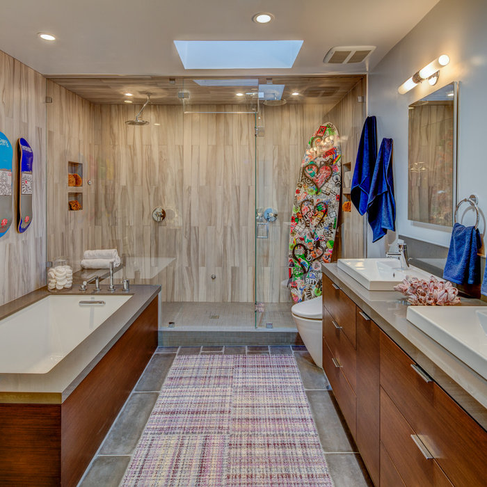 Interior Design-Hollywood Hills Bath Remodel