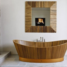 Contemporary Bathroom by MGS Designs