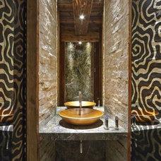 Rustic Bathroom by MGS USA
