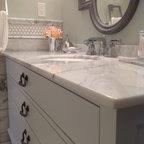 Frenchflair Traditional Bathroom Vancouver