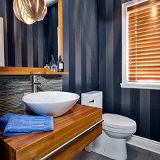 Contemporary Bathroom by Monique Castonguay Design