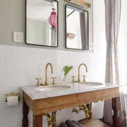 Shabby chic style white cabinet finish urinal toilet - Shabby chic bathroom sink ...