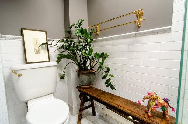 Eklektisk Badrum by indigo & ochre design