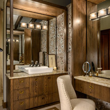 Contemporary Bathroom by Horizon Contracting