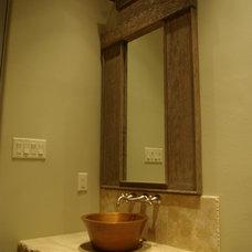 Mediterranean Bathroom by Seal Design Group