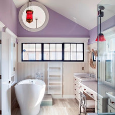 Eclectic Bathroom by Cape Associates, Inc.
