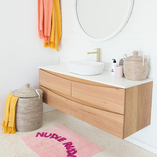 Pt. Cartwright Timber Bathroom Vanity