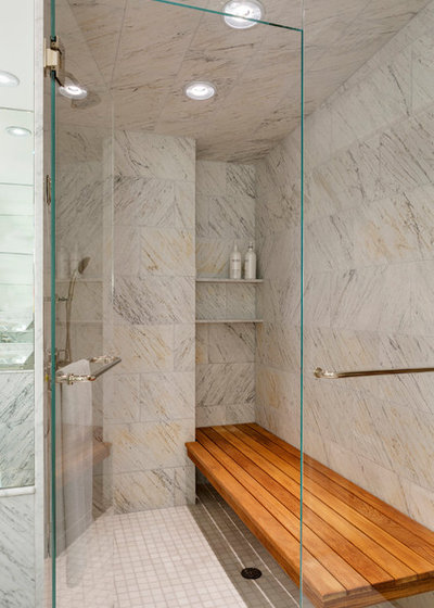 Fusion Bathroom by Hickox Williams Architects, Inc.