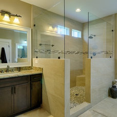 Traditional Bathroom by Crosby Creations Drafting & Design Services, LLC