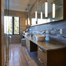 Contemporary Bathroom by John Henshaw Architect Inc.