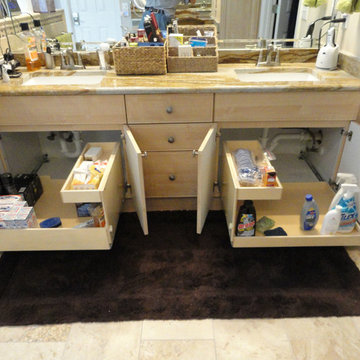 Pull Out Shelves for Your Bathroom