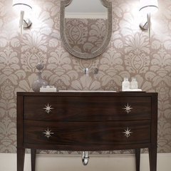 eclectic bathroom by Carolina V. Gentry, RID