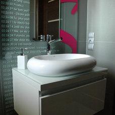 Contemporary Bathroom by studio A:W