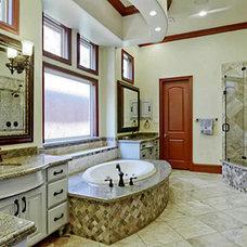 Mediterranean Bathroom by Veranda Fine Homes