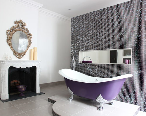 Purple frenzy - Amazing classic luxury bathroom inspirations tranquil retreat ...