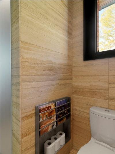 Rustikal Badezimmer by Birdseye Design