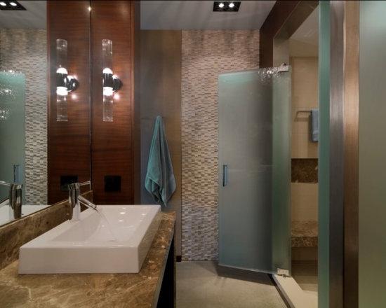 Etched Shower Doors etched shower doors | houzz