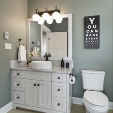 Traditional Bathroom by Concept Photography