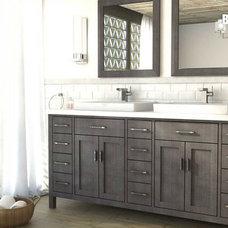 Contemporary Bathroom by Vanities for Bathrooms
