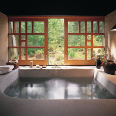 Asian Bathroom by Quantum Windows & Doors, Inc.