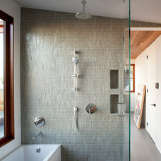 Contemporary Bathroom by Quantum Windows & Doors, Inc.