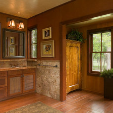 Traditional Bathroom by Quantum Windows & Doors, Inc.