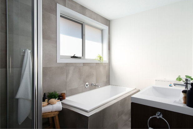 Contemporary Bathroom by Upstyled Interiors