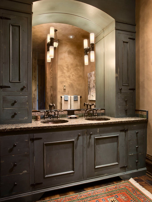 Bathroom cabinet ideas home design ideas pictures for Bathroom cabinet renovation ideas