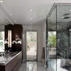 Contemporary Bathroom by Northman Marble & Granite