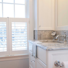 Traditional Bathroom by Kitchen + Bath Design + Construction, LLC
