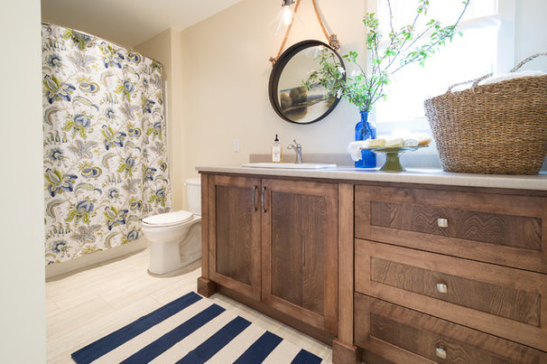Beach Style Bathroom by Sonya Kinkade Design