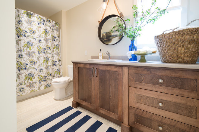 Beach Style Bathroom by Sonya Kinkade Design
