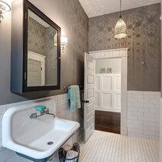 Traditional Bathroom by Carl Mattison Design