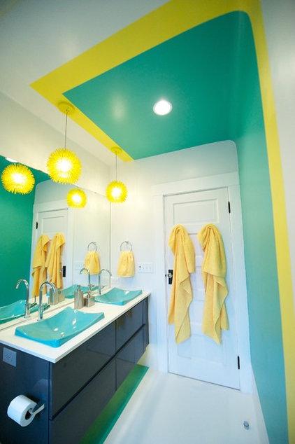 Contemporary Bathroom by Miller Interior Design, LLC