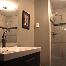 Contemporary Bathroom by Ballard Remodel