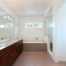 Contemporary Bathroom by Peter Rose Architecture and Interiors