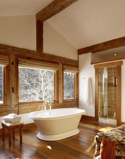 Rustic Bathroom by Carney Logan Burke Architects