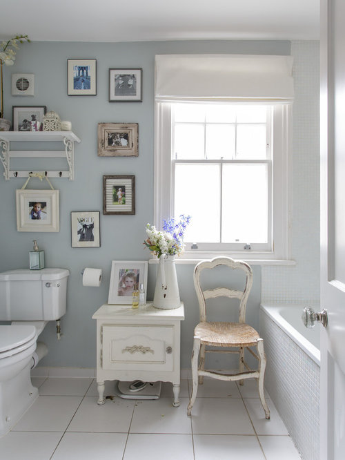 Shabby chic bathroom ideas pictures remodel and decor Decorating your home shabby chic cottage style