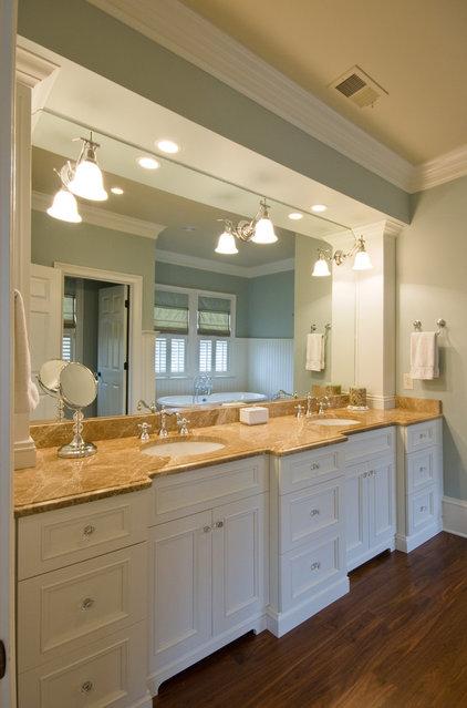 Traditional Bathroom by Max Crosby Construction