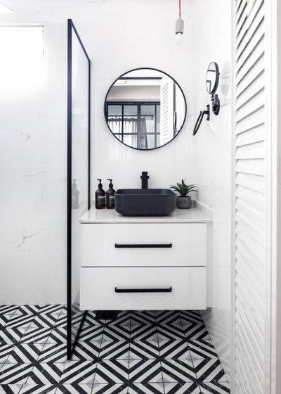 Scandinavian Bathroom by Team Interior Design