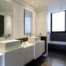 Modern Bathroom by Moshi Gitelis - Photographer