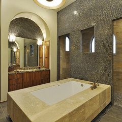 mediterranean bathroom by Design Visions of Austin