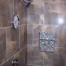 Contemporary Bathroom by GTF Construction Concepts