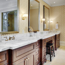 Transitional Bathroom by Braam's Custom Cabinets