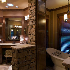 Traditional Bathroom by Classically Yours Interiors (CYInteriors)
