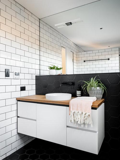 Skandinavische badezimmer ideen design bilder houzz for Badezimmer skandinavisches design