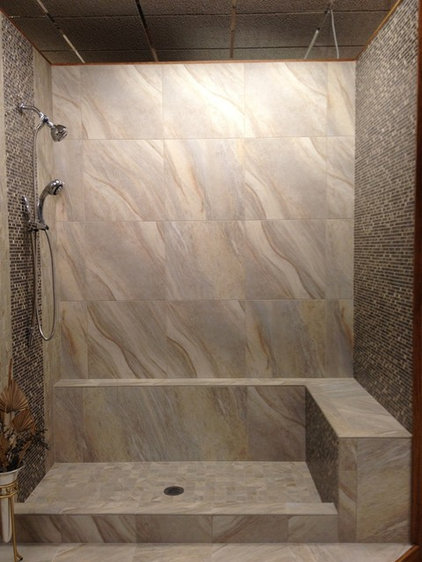 Modern Bathroom by Glens Falls Tile & Supplies