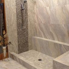 Modern Bathroom by Glens Falls Tile & Supplies