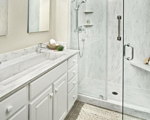 Corian Shower Pan Houzz