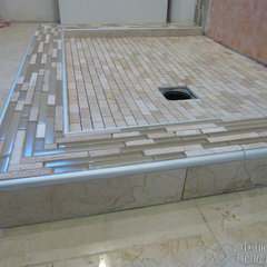 modern bathroom by 3D-Tile-Design - Bertram Tasch